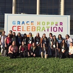 Picture of Grace Hopper Conference Group